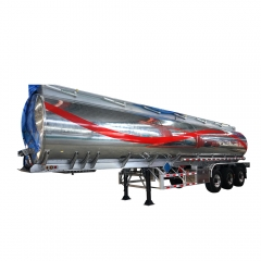 Aluminum Alloy Fuel Tank Semi Trailer